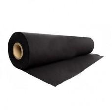 PE afdekfolie 0,2 mm 100 m2 zwart/grijs