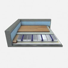 Droogbouwsysteem Compleet  10 m2 HoH=12.5cm
